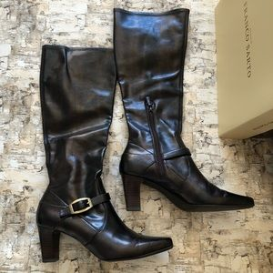 Franco Sarto Vegan Leather Boots size 9